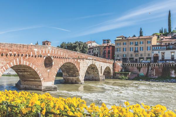 View of the Ponte Pietra