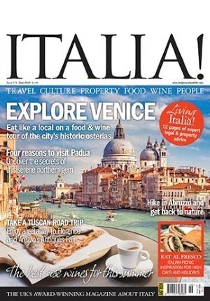 Italia! magazine #175 cover