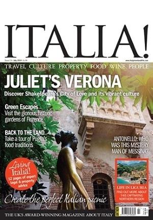 Italia! magazine #176 cover