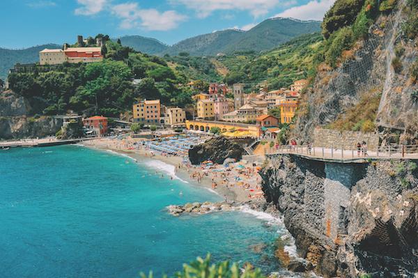 Monterosso al Mare in the sunshine