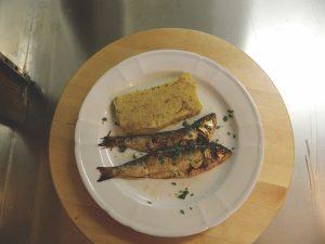 polenta and missoltini