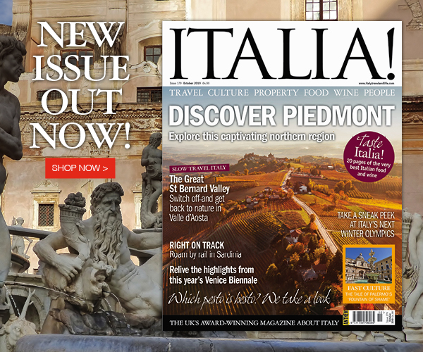 low priced 84fc3 5f189 Italia! magazine issue 179 is out now! - Italy Travel and ...