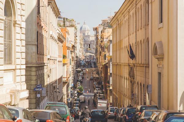rome streets, lazio