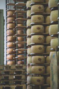 Parmigiano Reggiano ageing