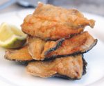 Crispy chilli wild trout fillets