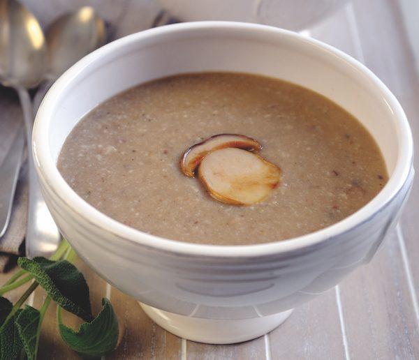 foraging - chestnut soup