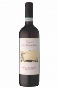 Tuscan red wines Rosso Di Montalcino Scopetone