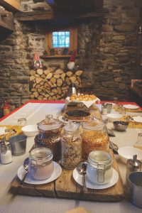 Breakfast a Nuit a Pleiney, Aosta