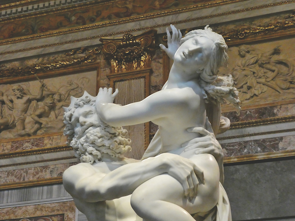 Abduction of Persephone by Bernini