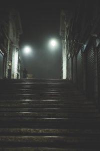 Rialto bridge at night, Venice