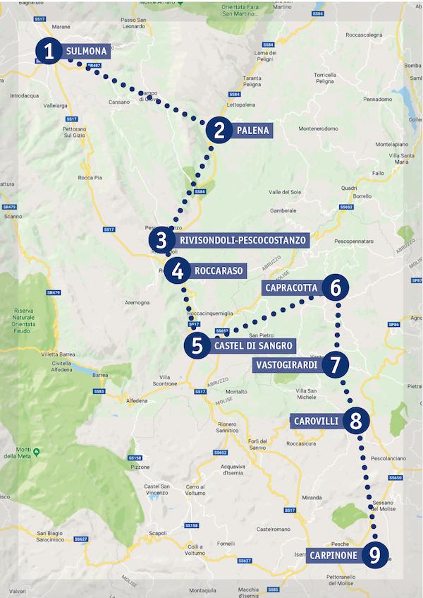 map of railway
