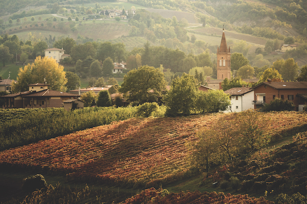 Emilia-romagna countryside