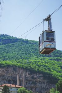 cable car, Trento