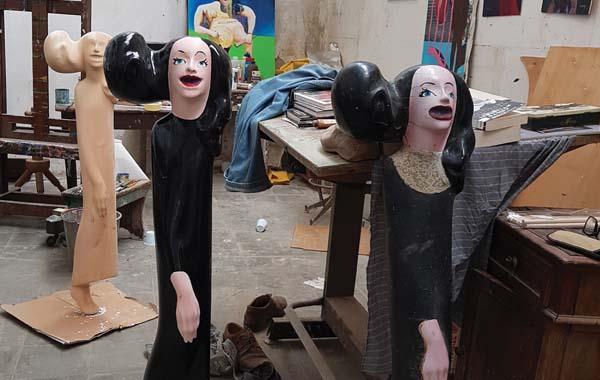 Rod Dudley sculptures