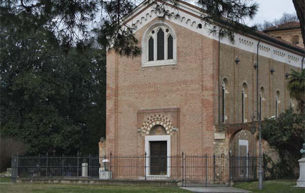 Exterior of the Arena Chapel in Padua