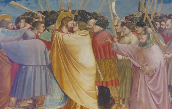 Kiss of Judas Panel from Giotto