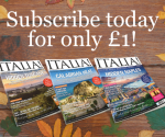 Subscribe to Italia! for only £1!